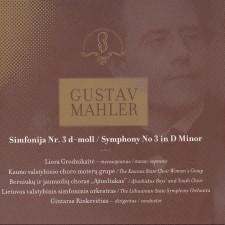 GUSTAV MAHLER. SIMFONIJA NR. 3 D-MOLL (2 CD)