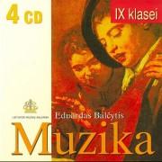 EPOCHŲ MUZIKOS ANTOLOGIJA IX KLASEI (SUD. EDUARDAS BALČYTIS) (4 CD)