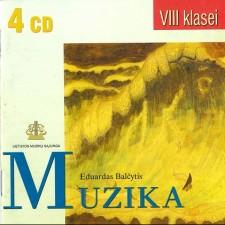 POLIFONINĖS MUZIKOS ANTOLOGIJA VIII KLASEI (SUD. EDUARDAS BALČYTIS) (4 CD)