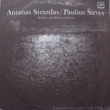 Antanas Strazdas / Paulius Širvys