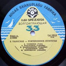 Fortepioninis Kvintetas / Žiemos Eskizai