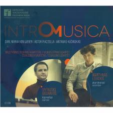 Intro Musica (Carl Maria Von Weber, Astor Piazzolla, Antanas Kučinskas) (2 CD)