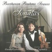 SONATAS. BEETHOVEN, BRAHMS, STRAUSS