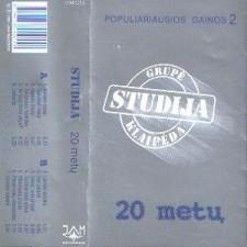POPULIARIAUSIOS DAINOS 2 (20 METŲ)