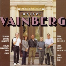 WEINBERG – STRING QUARTETS 11, 13 (FEAT. GOLDA VAINBERG-TATZ)