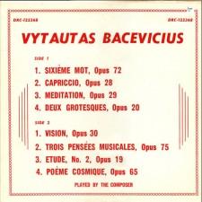 VYTAUTAS BACEVIČIUS