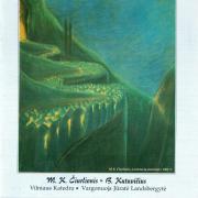 Kūriniai Vargonams. M. K. Čiurlionis, B. Kutavičius