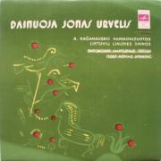 A. Kačanausko Harmonizuotos Lietuvių Liaudies Dainos