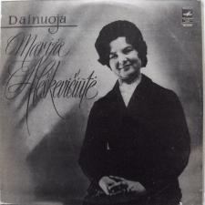 Dainuoja Marija Aleškevičiūtė