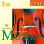 PROGRAMINĖS MUZIKOS ANTOLOGIJA VI KLASEI (SUD. EDUARDAS BALČYTIS) (3 CD)