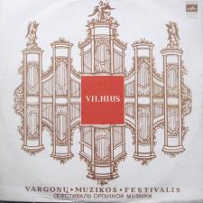 Antrasis Sąjunginis Vargonų Muzikos Festivalis, Vilnius, 1969 (P. Ebenas / O. Mesianas)