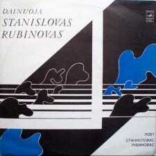 Dainuoja Stanislovas Rubinovas