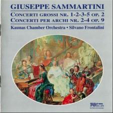 GIUSEPPE SAMMARTINI. CONCERTI OP.2 & OP.9. KCO, FRONTALINI