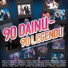 90 Dainų - 90 Legendų (4 CD)