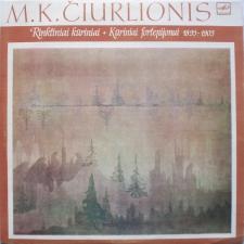 KŪRINIAI FORTEPIJONUI 1899-1903 (M. K. ČIURLIONIS)