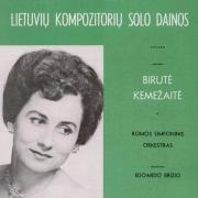 Lietuvių Kompozitorių Solo Dainos