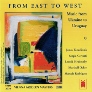 From East To West. Music From Ukraine To Uruguay