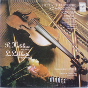 Lietuvių Tarybinių Kompozitorių Kūriniai Smuikui Ir Fortepijonui