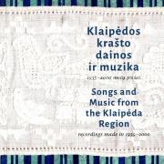Klaipėdos krašto dainos ir muzika. 1935-2000 metų įrašai
