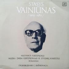 Nuotaikos Fortepijonui / Muzika Dviem Fortepijonams Ir Styginių Kvartetui / Romansai (STASYS VAINIŪNAS)