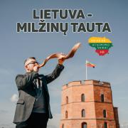 LIETUVA - MILŽINŲ TAUTA (Singlas)