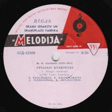 Styginis Kvartetas (M. K. Čiurlionis)