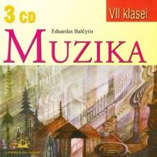 HOMOFONINĖS MUZIKOS ANTOLOGIJA VII KLASEI (SUD. EDUARDAS BALČYTIS) (3 CD)