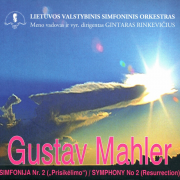 GUSTAV MAHLER. SIMFONIJA NR. 2 (2 CD)