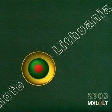 NOTE LITHUANIA 2009