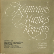 Kamerinės Muzikos Koncertas (A. Vivaldis / J. S. Bachas / G. Hendelis)