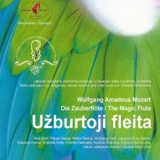 WOLFGANG AMADEUS MOZART. UŽBURTOJI FLEITA (2 CD)