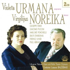 Violeta Urmana, Virgilijus Noreika (2 CD)