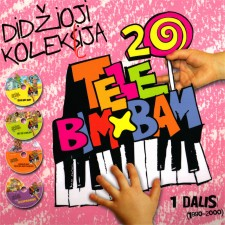 TELEBIMBAM DIDŽ. KOL. 1.4. MUSIAKOJIS 1998 M.