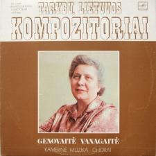 KAMERINĖ MUZIKA. CHORAI (GENOVAITĖ VANAGAITĖ)