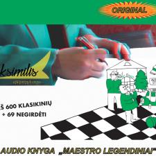Audiokasetinėknyga MAESTROLEGENDINIAI (degustacinė versija)