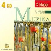 LIETUVIŲ MUZIKOS ANTOLOGIJA X KLASEI (SUD. EDUARDAS BALČYTIS) (4 CD)