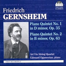 Piano Quintet No. 1 In D Minor, Op. 35 / Piano Quintet No. 2 In B Minor, Op. 63 (Friedrich Gernsheim)
