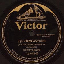 Vijo Vilkas Voveraite / Šaltyšius