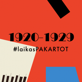 #laikasPAKARTOT 1920-1929 m.